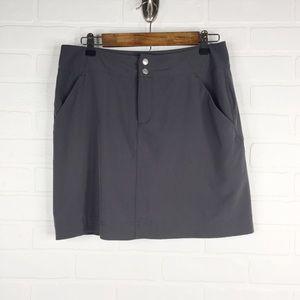 Kate Lord Skort Golf Skirt Gray Athletic 4